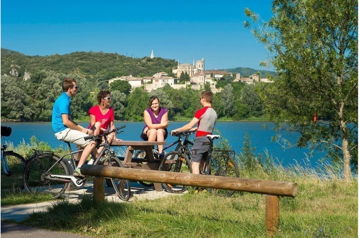 Pause vélo à Viviers